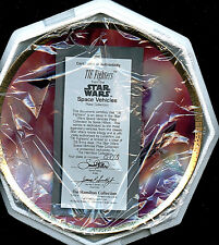 Star Wars Tie Fighters Collector Plate New Hamilton Collection