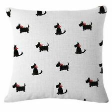 Scottish Terrier dog puppy Cushion Cover