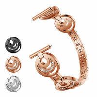 Rhinestone Stainless Steel Band Bracelet Strap For Samsung Galaxy Watch 42 46mm