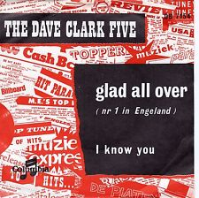7inch DAVE CLARK FIVE glad all over HOLLAND EX