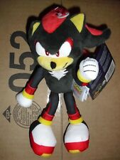 "Tomy Sonic the Hedgehog Shadow 8"" plush Sonic toy action figure"