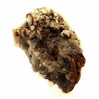 Smoky Quartz+Calcite+Ankerite 2857.0 Ct. Solid of / the Mont-Blanc, France