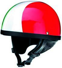 Redbike RB510 Halbschale Helm Italien Design Motorrad Jethelm Oldtimer Cap