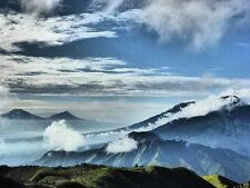 MOUNTAIN LANDSCAPE INDONESIA POSTER PRINT 27x36 HI RES