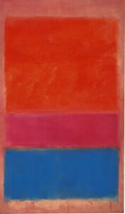 Mark Rothko Number Giclee Canvas Print Paintings Poster Reproduction