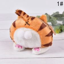 Wallets Women Mini Cute Cat Butt Tail Plush Coin Purse Change Purse Bag BP