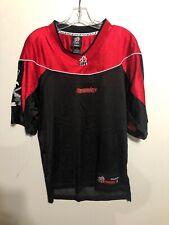 Vintage Reebok CFL Stampeders Black/Red Football Jersey Small