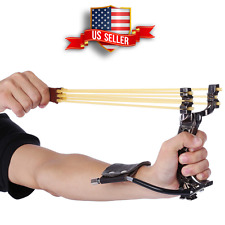 The Pocket HAMMER Heavy high velocity shot Wrist Slingshot Camping Toys Hunting