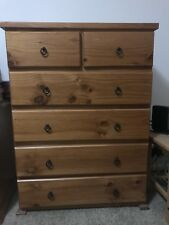 Tallboy Chest Of Drawers Oak