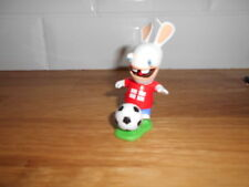 lapin cretin : figurine serie football la suisse , coupe du monde , 6 cm