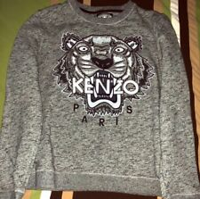 9061a927 KENZO: Tiger Icon Sweatshirt Grey Size L $395 Retail