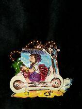 Flintstones 2003 Krewe of Bacchus Float Theme Bead Fantasy World Mardi Gras Rare