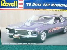 REVELL 1970 FORD MUSTANG BOSS 429 2 in 1 PLASTIC MODEL KIT 1/25 SKILL LEVEL 2