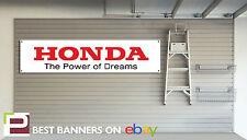 Honda de alimentación de los sueños Taller Garage Banner, Type R, Civic, Prelude, Integra