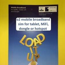 3G/4G o2 Tablet Mobile WiFi Dongle MiFi Pay As You Go SIM Card USB 02 Data UK