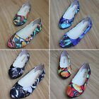 WOMENS LADIES FLAT DOLLY PUMPS BALLET BALLERINA CASUAL WORKING DANCE SHOES FLATS