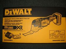 DeWALT DCS355D1 20V Max XR Li-Ion Cordless Oscillating Multi-Tool Kit NEW