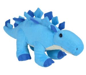 NEW Dinosaur Baby Cute Blue Stegosaurus Plush Stuffed Toy Great Kids Gift Idea!