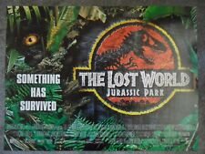 Mint - THE LOST WORLD JURASSIC PARK 2 / II - Original D/S UK Quad Cinema Poster