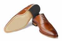 New Handmade Men's Brown Color Wing Tip Dress/Formal Oxford Shoes