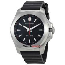 Victorinox I.N.O.X. V Black Dial Ladies Rubber Watch 241768