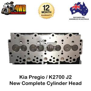 Complete Cylinder Head w Valves & Springs for Kia Pregio K2700 J2 4Cyl 8V Diesel