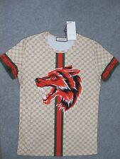 Men's Gucci T-Shirt Wolf Size XL
