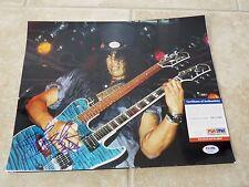Slash Guns & Roses 1 of A Kind Signed Autographed 11x14 Photo PSA Certified #1