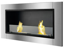 Lata with Front Glass - Ignis Recessed Ventless Bio Ethanol Fireplace