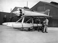 OLD LARGE PHOTO AVIATION HISTORY Bristow Short Bristol Crusader Seaplane c1930