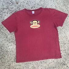 Vintage Paul Frank Tee OG Julius The Monkey Graphic Art Cartoon Logo Y2K 2005 XL