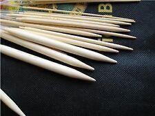 "60"" 14 size  bamboo circular knitting needles US 1-15 premium"