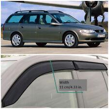 Wide Window Visors Side Guard Vent Deflectors For Opel Vectra B Caravan 1995-02