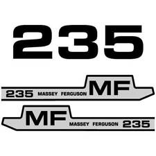 Massey Ferguson 235 decal aufkleber adesivo sticker set
