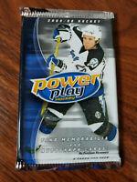2005-06 Upper Deck Power Play Hockey 6 card pack Lots - Full Checklist inside!