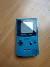 Nintendo Game Boy Color, Handheld Spielkonsole, gebraucht, türkis
