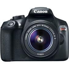Canon EOS Rebel T6 DSLR Camera with 18-55mm II Lens. (2 LENSES) REFURBISHED