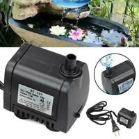 Mini Electric Submersible Water Pump Fountain Pool Pond Tank 110-120V Fish U0Q2
