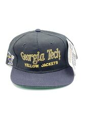 New Vintage Georgia Tech Yellow Jackets Sports Specialties Script Snapback Hat