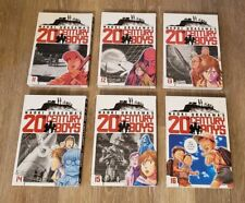 20th Century Boys Vol. 11 12 13 14 15 16 Naoki Urasawa (Monster) Viz Media