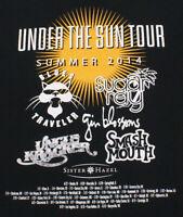 BLUES TRAVELER, SUGAR RAY, UNCLE KRACKER, GIN BLOSSOMS 2014 Tour T-Shirt, Large