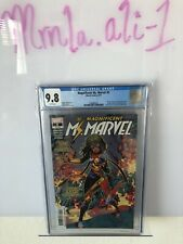 MAGNIFICENT MS MARVEL #5 CGC 9.8 NEW COSTUME COVER