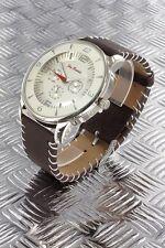 orologio crono-look Jay Baxter cinturino vera pelle-garanzia-nuovo- b 707