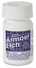 Armour Etch Etching Cream for Glass 3 oz Stained Glass Supplies