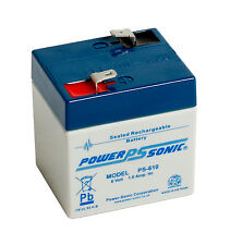 PS-610 Power-Sonic 6 volt 1.0Ah Rechargeable Lead Acid 6 V PS610 Battery