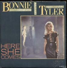 "BONNIE TYLER HERE SHE COMES (G.MORODER) +TIME 1984 ITALY 7"" 45 GIRI METROPOLIS"
