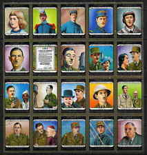 LIFE OF CHARLES DE GAULLE SET OF 20 STAMPS COMPLETE!