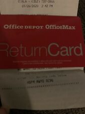 76.72 Office Depot Office Max Gift Card (Merchandise Credit)