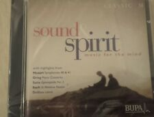 """""""Sound & Spirit"""" - Music For The Mind By Classic Fm Promo CD. BRAND NEW & SEALED"""