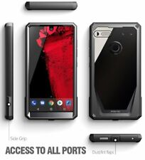 Poetic Shockproof Case For Essential Phone PH-1 Cover w/Screen Protector Black